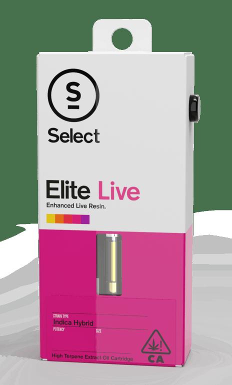 Select Elite Live vape cartridge