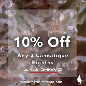 Cannatique- Cannapack by Mitch's Boutique
