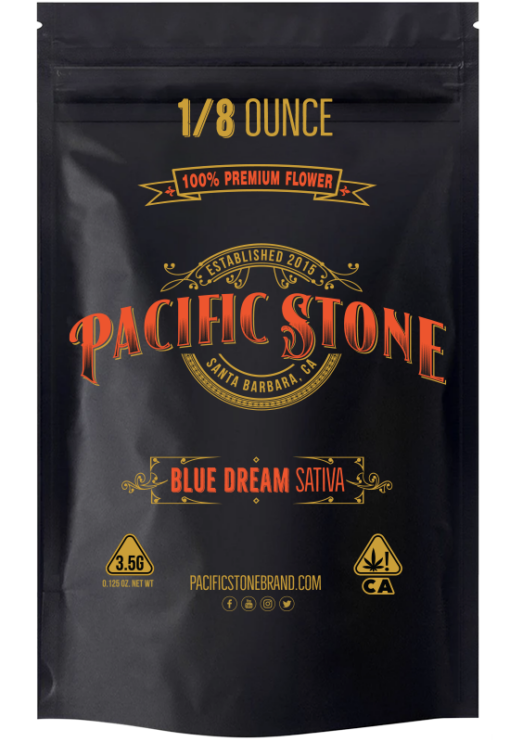 Blue+Dream+3.5g Pacific Stone
