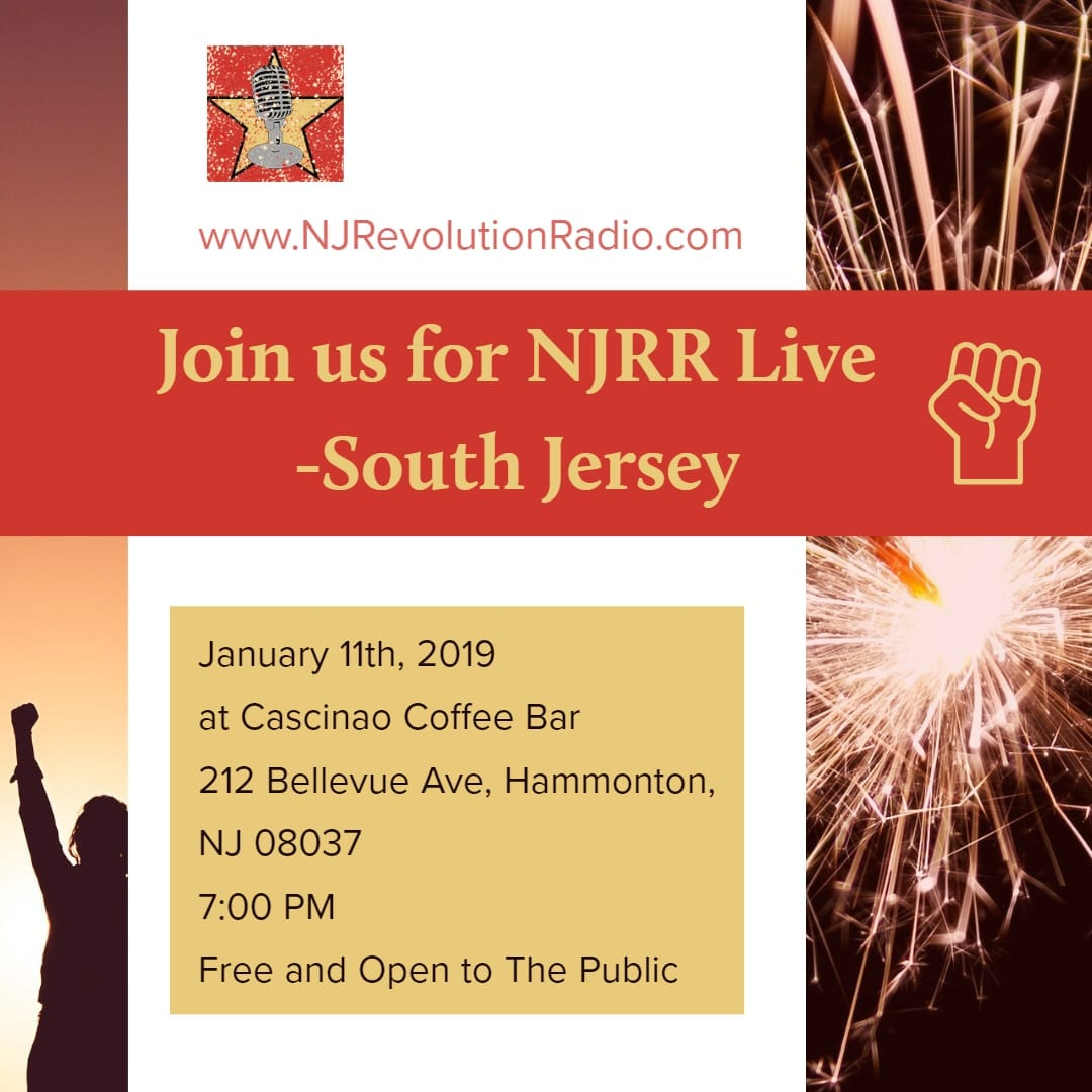 New Jersey Revolution Radio Live In South Jersey January 11