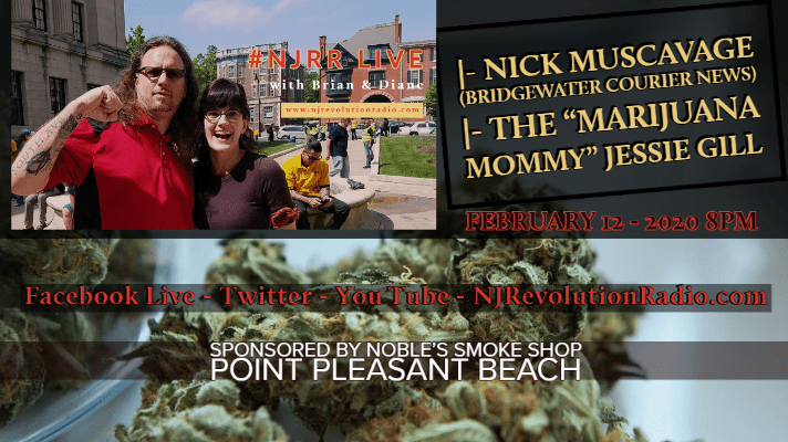 #NJRR Live WIth Brian Powers Solo Talking with The Marijuana Mommy