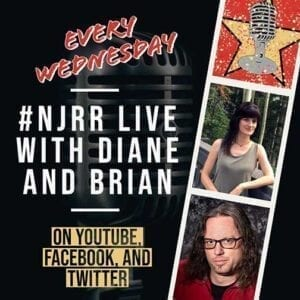 #NJRR Live with Brian and Diane.