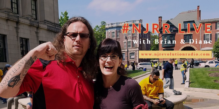 Brian Powers and Diane Moxley of NJRR Live