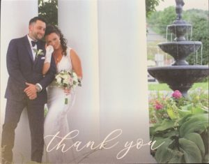 To the entire Park Avenue Family, Thank you for making the entire process so enjoyable! From bridesmaids to MOB, MOG dresses to helping me find my dress and customizing it, everything was perfect! Much love and God bless.  Tara and Jim M.