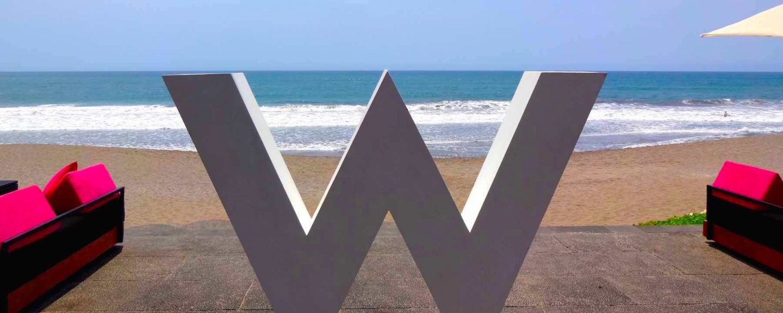 5 Star Perfection Beachfront at the W Retreat & Spa Bali in Seminyak