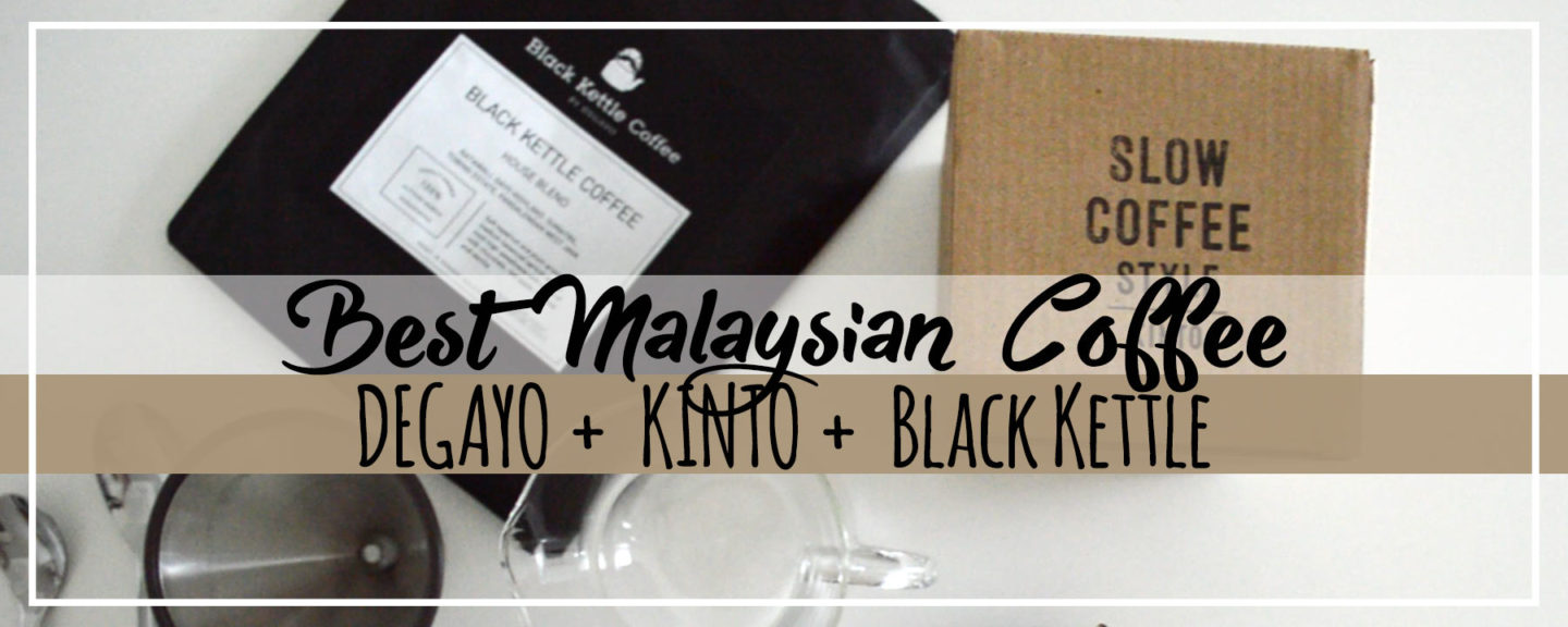 Video Review   Malaysian DEGAYO Coffee in Slow Brew Style by KINTO