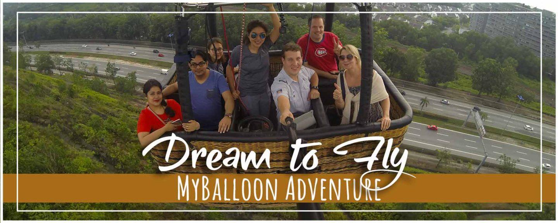 Hot Air Balloon Ride in Kuala Lumpur with MyBalloon Adventure