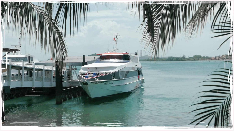 Batamfast Ferry VIP & Premium Class | Singapore Harbour Front, Sekupang, Batam Centre
