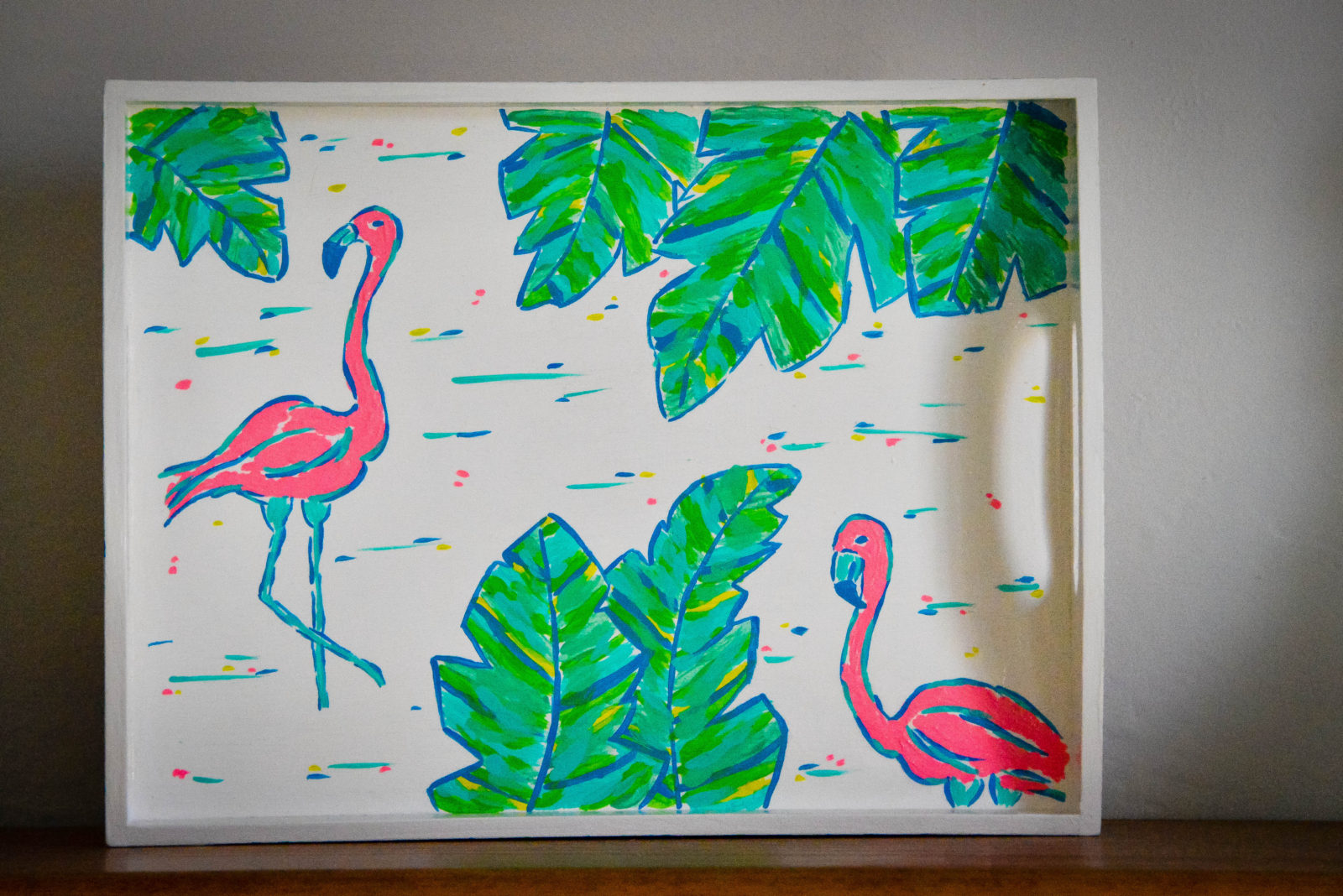 Lilly Pulitzer Flamingo Tray