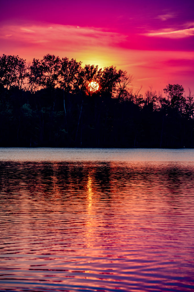 Creve Coeur Lake Sunset