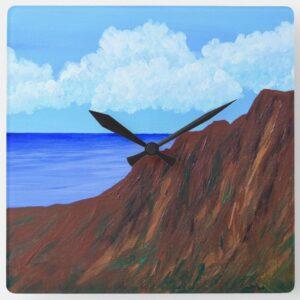 Kauai Painting Clock