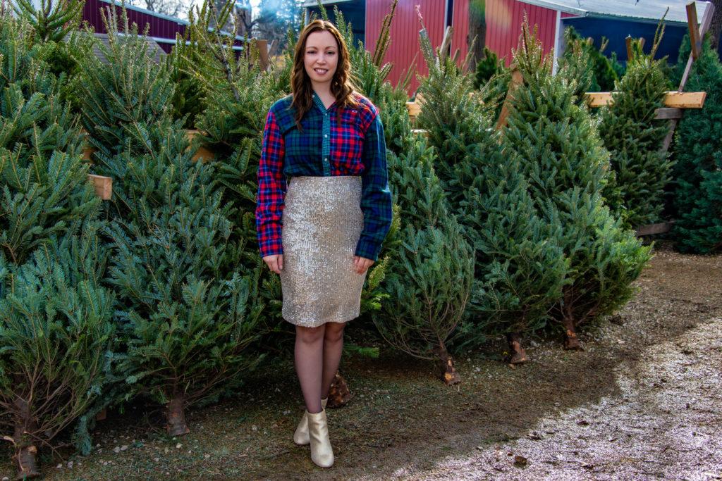 Christmas Tree Farm Portrait
