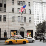 New York City Cab at Bergdorf Goodman Illustration