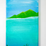 Over Under Acrylic Island Painting
