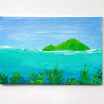 Over Under Acrylic Island Painting