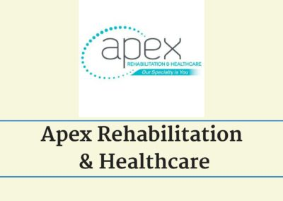 Apex Rehabilitation & Healthcare Embraces Integrated Marketing Plan