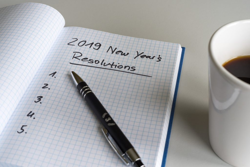 List of New Year's resolutions