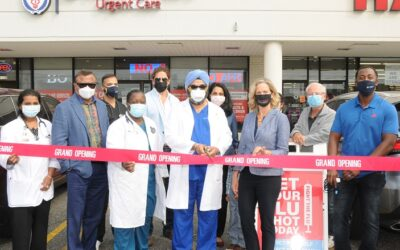 Elected Officials and Community Leaders Help Cut the Ribbon at LI Walk-In Care Grand Opening