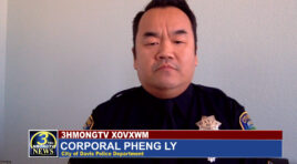 OFFICER PHENG LY SAVED WOMAN FROM BURNING CAR