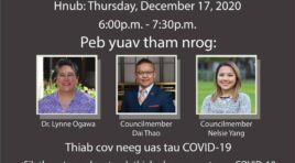 HMONG 18 COUNCIL VIRTUAL TOWN HALL ON COVID-19