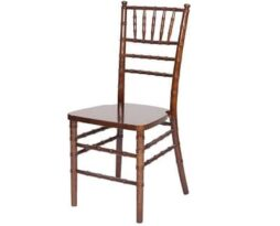 chair chiavari wood fruitwood wedding wood rental chair