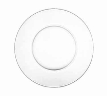 clear glass charger service plate rental chicago