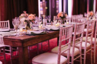 harvest table rental vintage chiavari chair rental