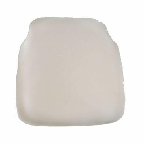 ivory chiavari chair cap seat cushion
