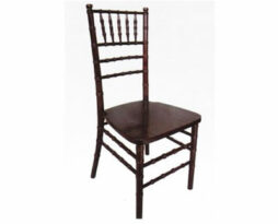 Chocolate brown chiavari chair rental chicago