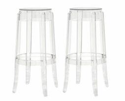 Clear acrylic ghost bar stools rent chicago suburbs