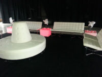 acrylic end tables
