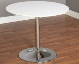 Club-cocktail-white-chrome-table-rental