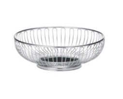 chrome-bread-baskets-9.75-3.25-inches_rental-chicago