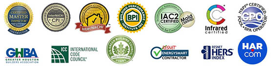 Houston Termite Inspection certifications