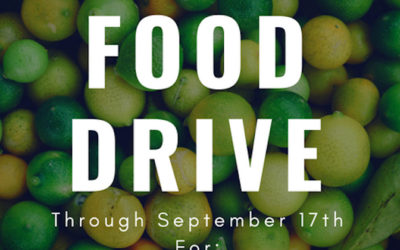 A New Leaf Food Drive