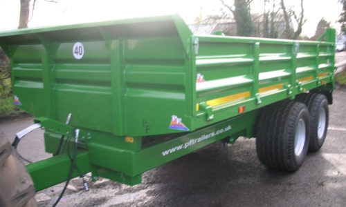 10T Dropside Tipping Trailer