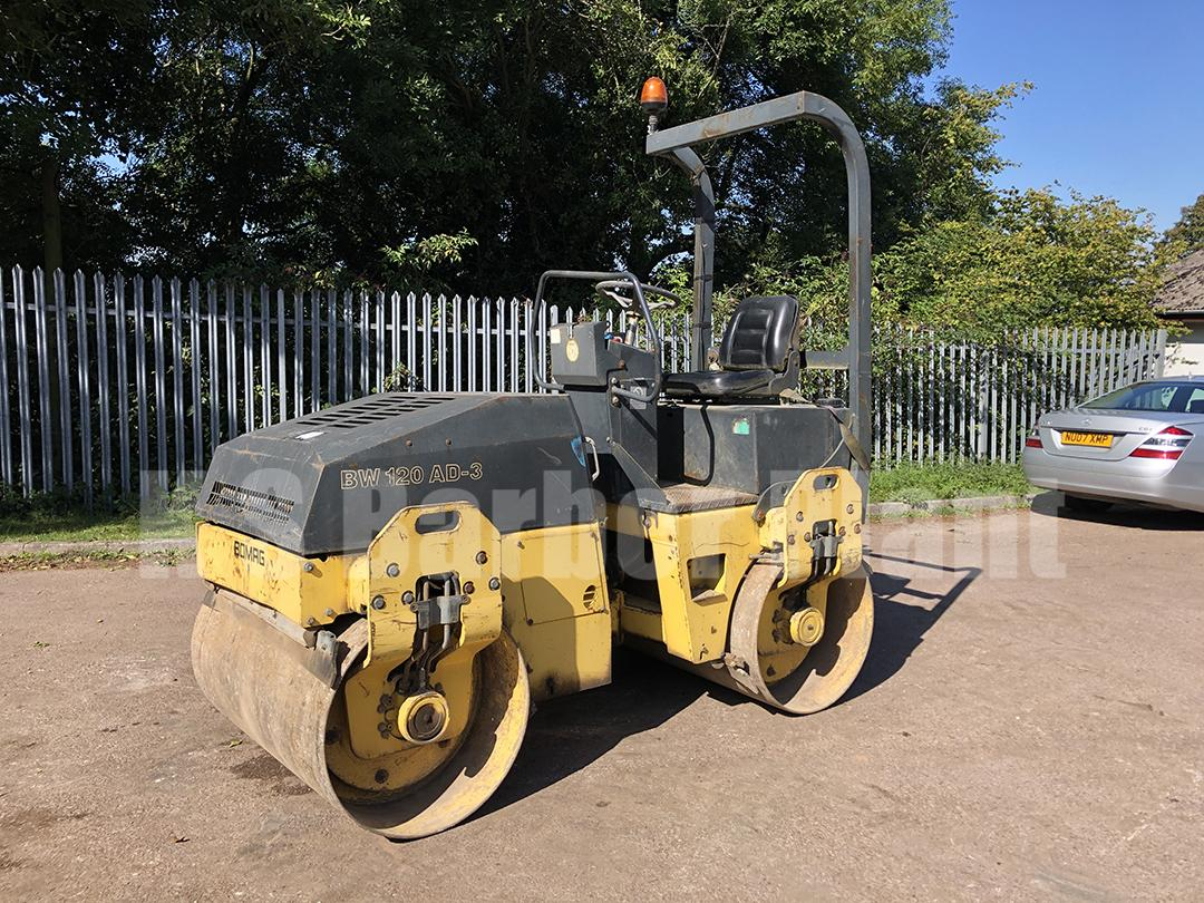 1999 BOMAG BW120AD-3 ROLLER