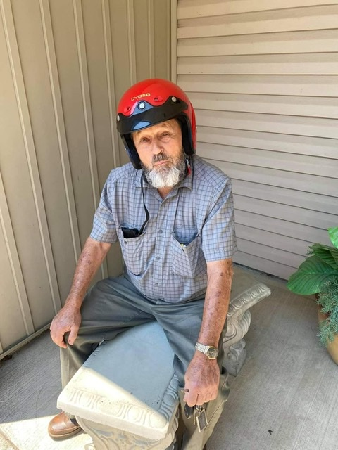Kenneth Hayes, age 80, from Rocksprings Road in Pomeroy was seen on his 1995 Honda GL 1500 Goldwing Trike, red in color with Ohio registration EXN24.