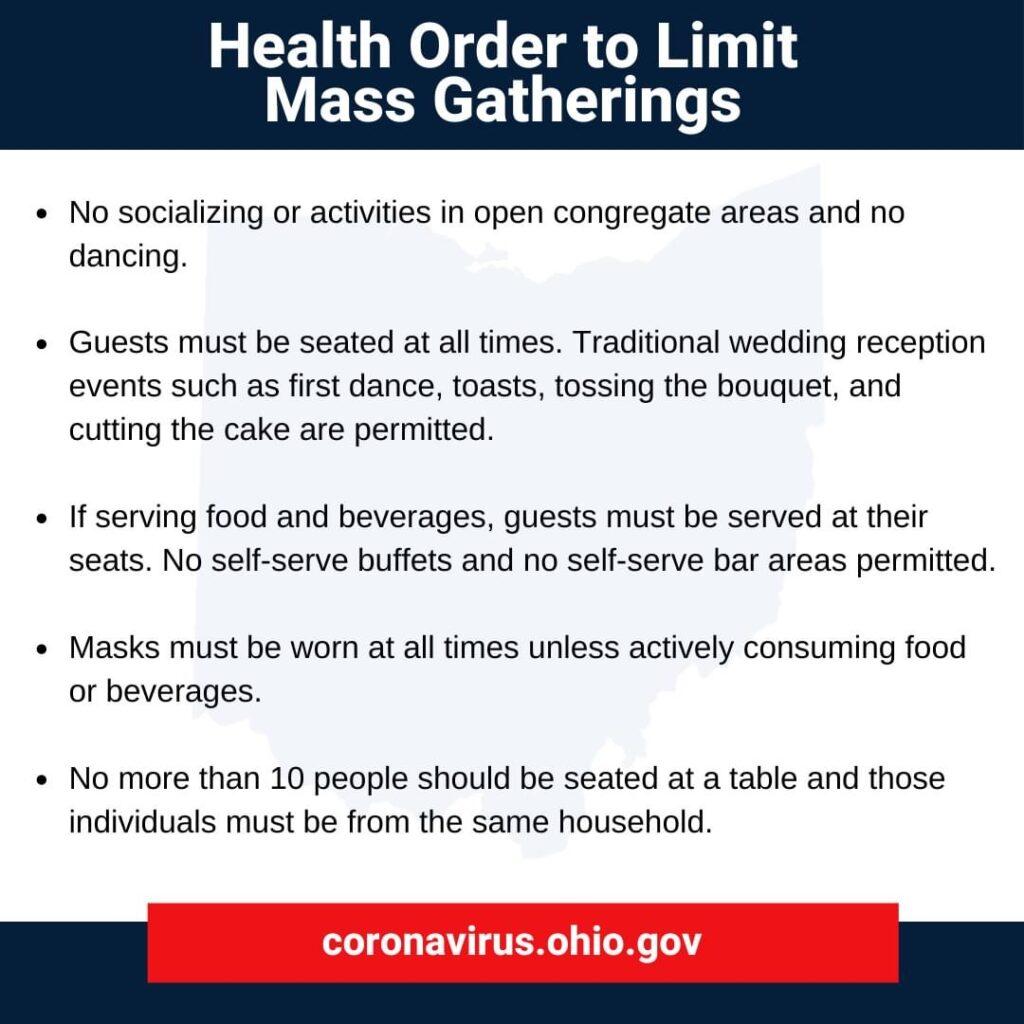 Covid health order mass gatherings