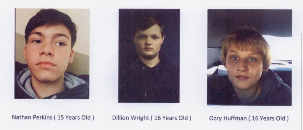 Missing juveniles