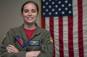 Petty Officer 1st Class Tammy Sarver is a naval air crewman serving with Commander, Patrol and Reconnaissance Wing 11. Submitted photo.