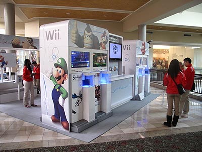 ACME - Nintendo Holiday Mall Exhibit 7