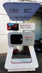 Camry Kiosk - LA Auto Show 2