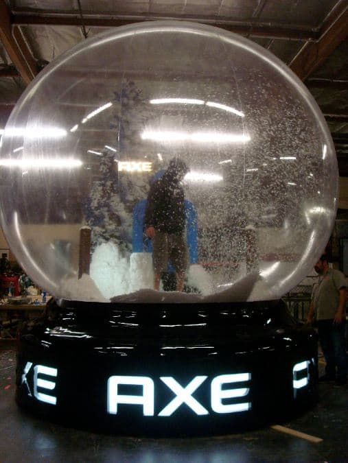 Axe Active Snowglobe Production