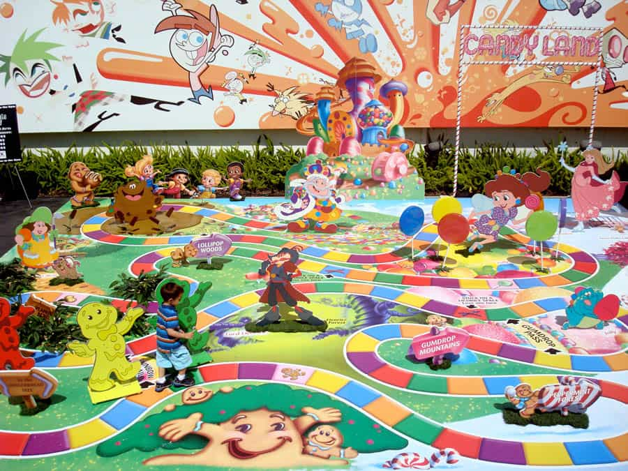 Life Size Candyland board game