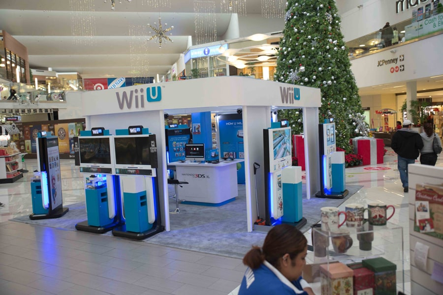 Nintendo Wii U Event Marketing