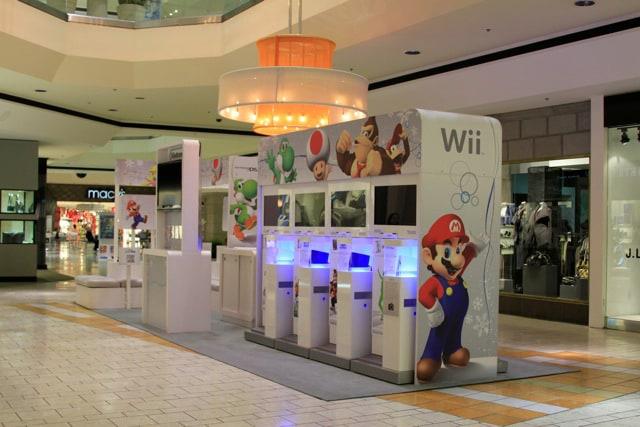 Nintendo Kiosk Internet Marketing
