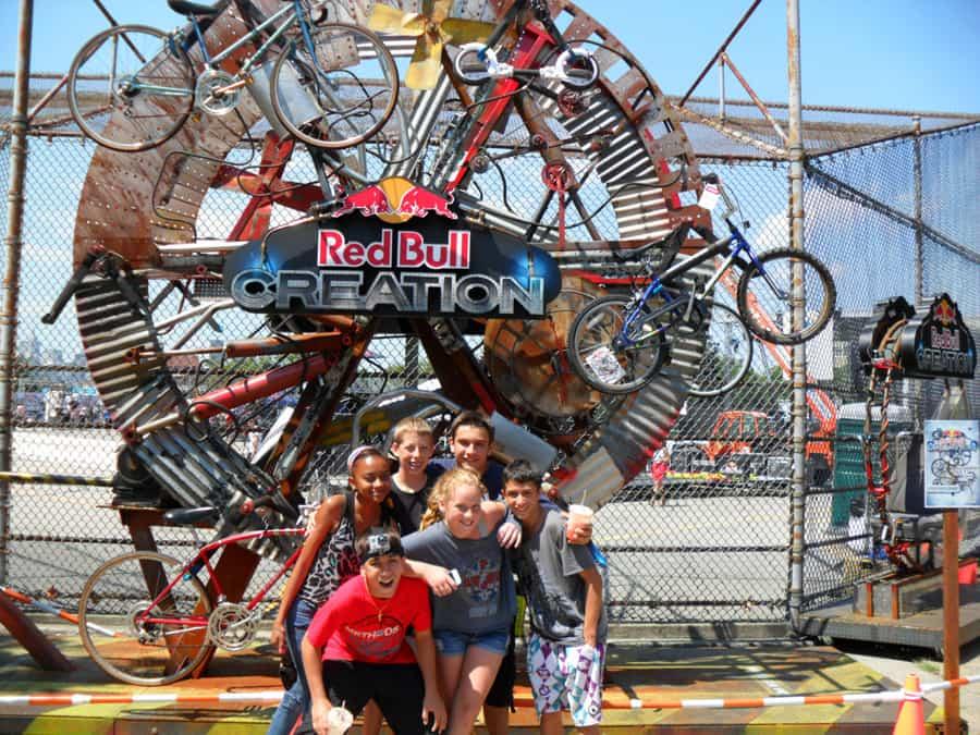 Redbull Creation Experiential Marketing