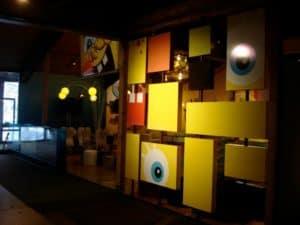 Abstract Sponge Bob Art Piece
