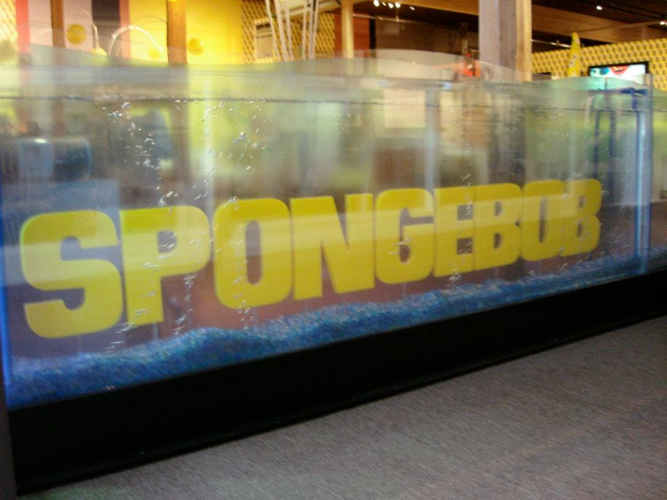 Under Water 3D Sign